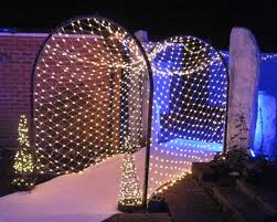 theme lighting fairy light tunnel winter winter theme and