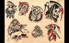 traditional skull designs traditional