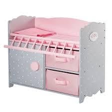 olivia u0027s little world polka dots princess baby doll crib with