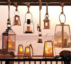lanterns with maritime flair u2013 summer decoration ideas for home