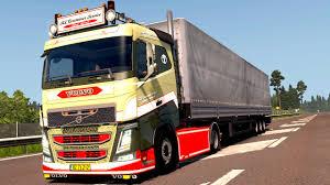 volvo sleeper truck volvo fh sleeper mod euro truck simulator 2 youtube