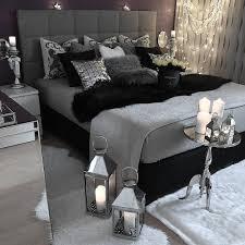 chambre gris noir inspiration décoration chambre gris noir bedroom grey black