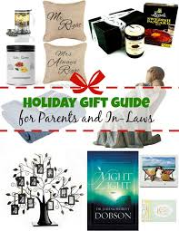 gift guide for parents and in laws