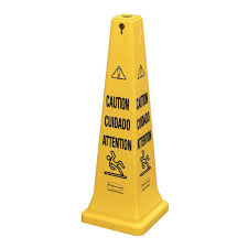 Wet Floor Images by 36 In Banana Cone Multi Lingual Caution Wet Floor Sign 1101 The