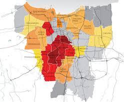 Map Of Jakarta Propertydata Asia Jakarta Q4 2013
