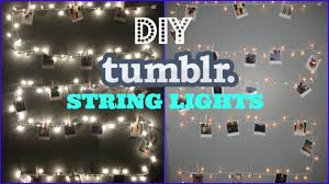 Decorating With String Lights Diy String Lights Youtube