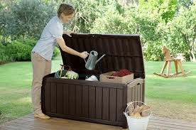 Garden Bench With Storage This Storage Container Doubles As Patio Furniture And It U0027s On Sale