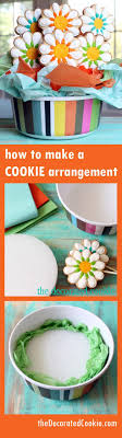 cookie arrangements 1000 best cookie decorating tips and resources images on
