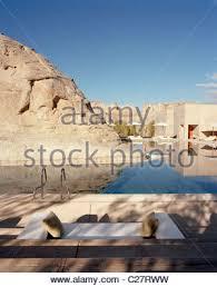 amangiri resort in canyon point southern utah stock photo