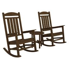 Trex Rocking Chairs Trex Outdoor Furniture Recycled Plastic Yacht Club Rocking Chair