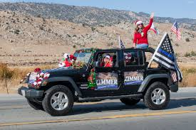 jeep christmas parade kern river valley christmas parade u201cno drought about it u201d kern