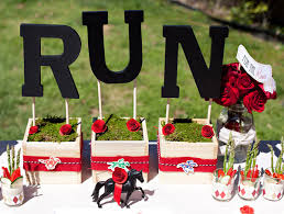 Kentucky Derby Flowers - inspiration kentucky derby party events plus style