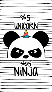 Panda Unicorn Total  adrenalina Pandas