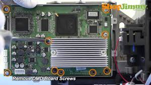 light engine for mitsubishi tv mitsubishi tv dlp chip removal how to remove dmd board from dlp