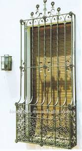 top selling ornamental security iron window grills buy
