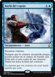 burla del espejo dragons of tarkir gatherer magic the gathering