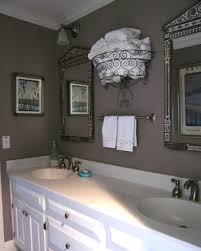 Towel Storage In Bathroom Bathroom Towel Storage Eclectic Bathroom Ta By