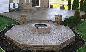 Concrete Patio Designs Layouts Concrete Patio Plans Landscaping Gardening Ideas