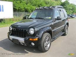renegade jeep black 2003 jeep liberty renegade 4x4 in black clearcoat 599037