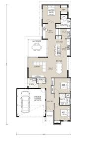 apartments narrow lot one story house plans narrow lot house