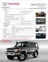 toyota land cruiser 70 habib gulzar motors limited u2013 land cruiser 70