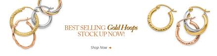 white gold hoop earrings 14k gold hoop earrings silver hoop