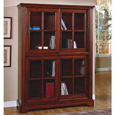 Bookcase With Glass Door Deluxe Glass Door Bookcase Sam S Club
