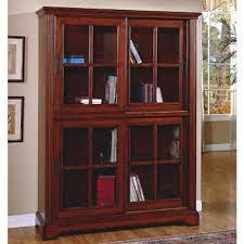 Bookcase With Glass Doors Deluxe Glass Door Bookcase Sam S Club