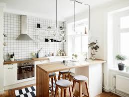 cuisine ouverte surface cuisine ouverte sur salon avec bar les petites surfaces du jour un