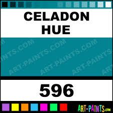 celadon artist gouache paints 596 celadon paint celadon color