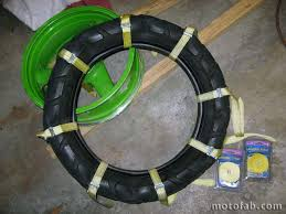 Adventure Motorcycle Tires Mount A Motorcycle Tire Without Using Tools Adventure Rider