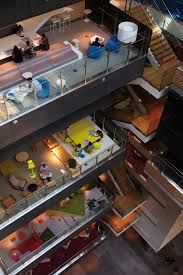 inspiring office design anz melbourne mutliple floors breakout