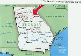 Map Of Atlanta Area by The Shields Ethridge Farm The End Of A Way Of Life Locate 2