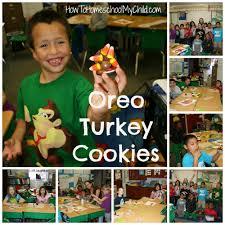 days of thanksgiving oreo turkey cookies u0026 pilgrim hat cookies how to homeschool my child