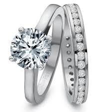 Engagement Rings And Wedding Band Sets by Precision Set Solitaire Engagement Ring