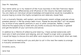 cover letter example cover letter example ehow