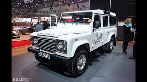 land rover electric land rover defender electric research vehicle