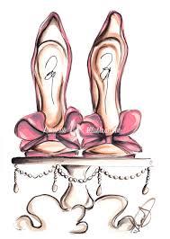 bridal shoes art fashion illustration shoes sketch fashion