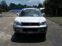 2004 hyundai santa fe price white hyundai in panama city fl for sale used cars on
