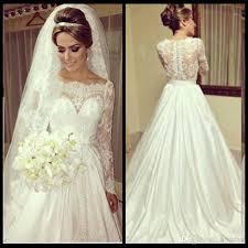 stylish wedding dresses discount vintage lace top scoop neck stylish wedding dresses a