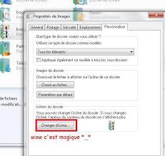 changer l image du bureau changer icone dossier bureau windows