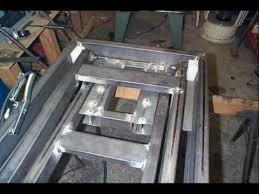 Motorcycle Bench Lift Building A Motorcycle Lift Table Youtube