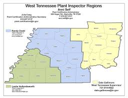 Tennessee Political Map by Plant Inspector Staff Tn Gov