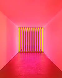 artist dan flavin sculpted windows for calvin klein