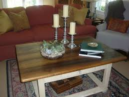 Living Room Center by Furniture Cheerful Brown Wood Coffee Table Decor With White Wood