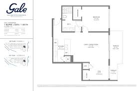 the gale floor plan gale ft lauderdale south florida real estate