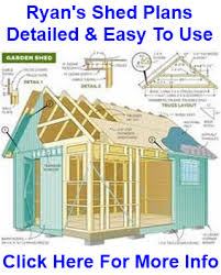 Plans To Build A Wooden Shed by My Shed Plans Review