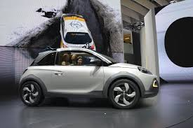 opel adam rocks opel adam rocks geneva 2013 video live photos autoevolution