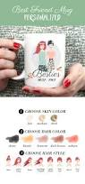 the best best friend gift idea ever personalized mug with your