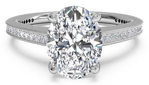 oval cut diamond trending oval cut engagement rings ritani